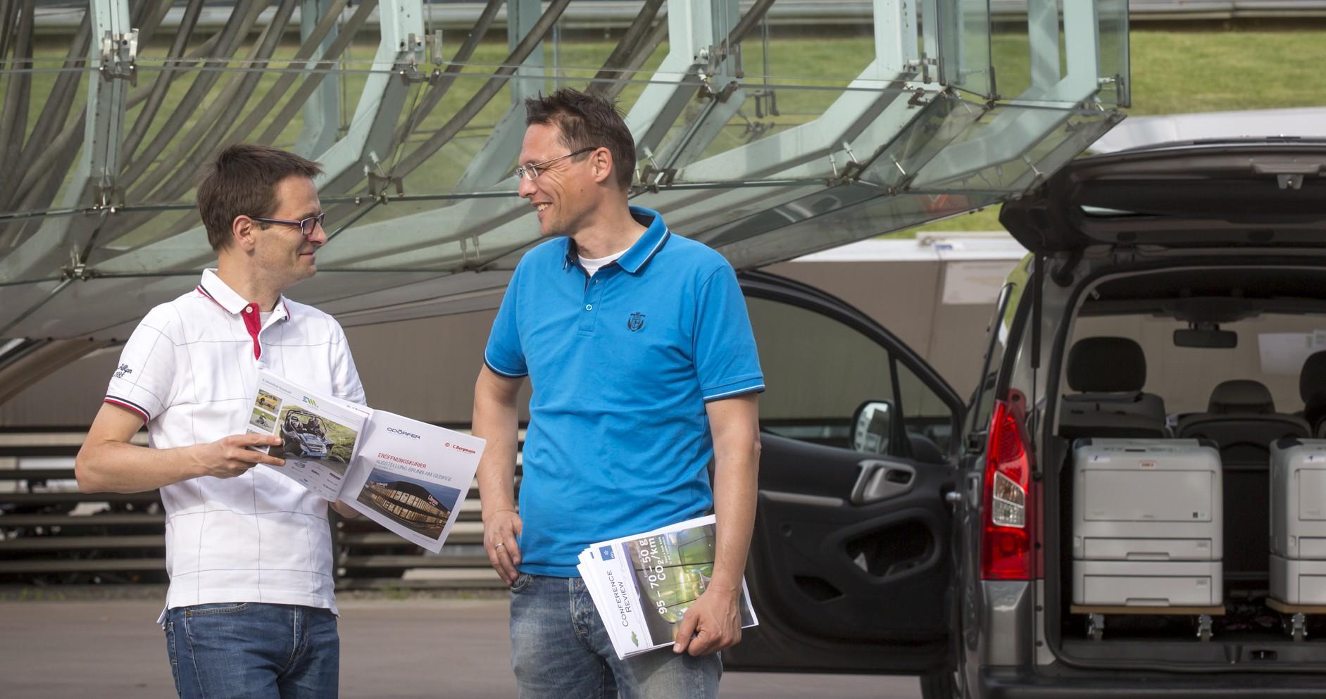 Robert Ernst-Kaiser und Michael Samec